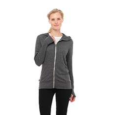 GARNER KNIT PREMIUM LIGHTWEIGHT FULL ZIP HOODIE-WOMEN'S