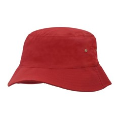 Child's Brushed Sports Twill Bucket Hat