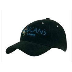 Cap With Metal Eyelets/Buckle