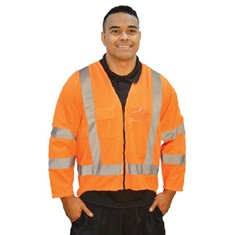 Hi Viz Long Sleeve Safety Vest