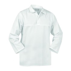 TWZ 240g Poly Cotton Domed Long Sleeve Food Jerkin