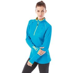 KNEW KNIT HALF ZIP TRAINING TOP-WOMEN'S