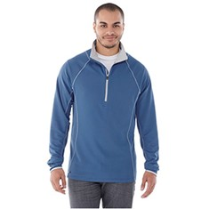 KNEW KNIT HALF ZIP WARM-UP/EXERCISE TOP-MEN'S