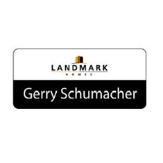 Landmark Name Badge