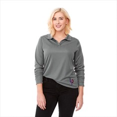 MORI LONG SLEEVED POLO-WOMEN'S
