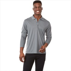 MORI LONG SLEEVED POLO-MEN'S