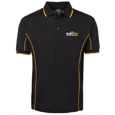 Short Sleeve Piping Polo - Men's