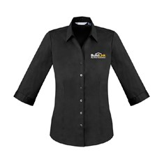 Ladies 3/4 Sleeve Business Shirt