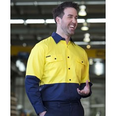 Hi Vis Long Sleeved 150G Shirt