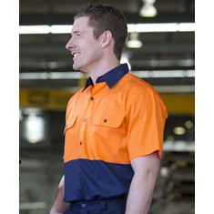 Hi Vis Short Sleeved 150G Shirt