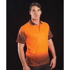 Hi Vis Short Sleeved Web Polo