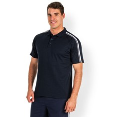DUAL STRIPE C/BACK POLO