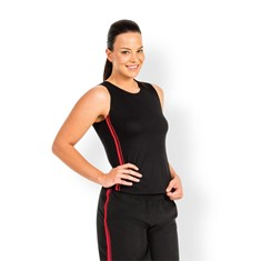 Podium Dual Stripe Singlet Womens