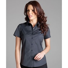 Ladies Urban Short Sleeved Poplin Shirt