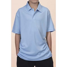 PODIUM KIDS SOLID POLY POLO