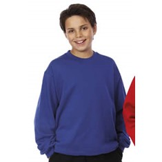 KIDS CREW NECK FLEECY SWEAT