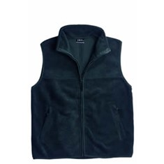POLAR FLEECE OPEN HEM VEST