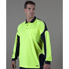 Hi Vis 4602.1 Long Sleeved Polo Arm Panel
