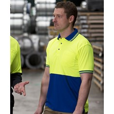 Hi Vis Short Sleeved Traditional Polo