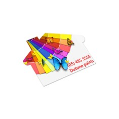 AD Labels - 70 x 50mm - House Shaped