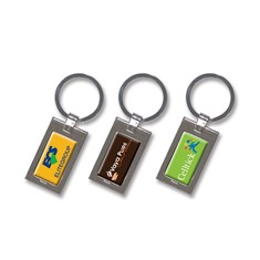 Wave Key Ring