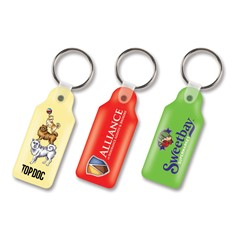 Flexi Resin Key Ring - Rectangle