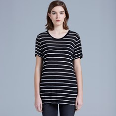 BASIC WOMENS STRIPE TEE