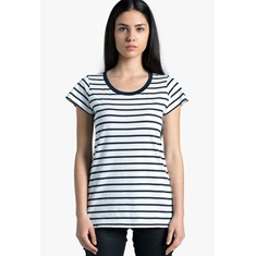Loop Womens Stripe Tee