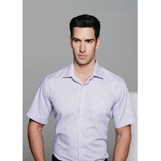 MENS HENLEY SHORT SLEEVED SHIRT