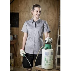 Womens Short Sleeve Tradie Shirt