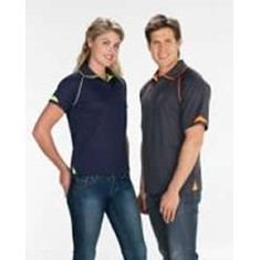 Fusion Mens Cotton-Backed Polo