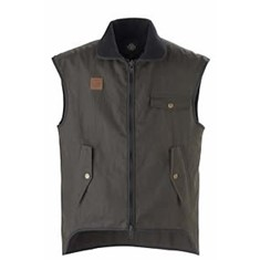Levels Oilskin Vest - Cotton Lined (Lightweight)