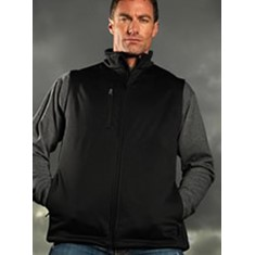 Mens BIZTECH Soft Shell Vest