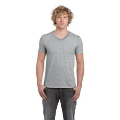 Soft Style Adult V-Neck Tee