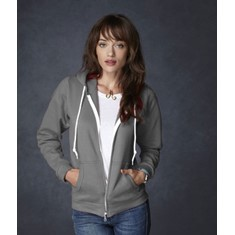 Anvil Ladies Combed Zip Hood