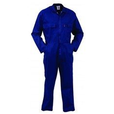 Combed Domed Cotton Overalls