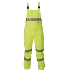 Flame Retardant/Anti Static PU Coated Bib Trousers