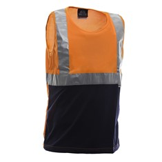 MicroFibre Breathable Singlet with Reflective Tape