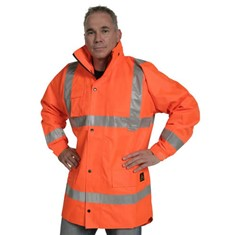 Jacket PVC Coated - Mesh Lined - TTMC