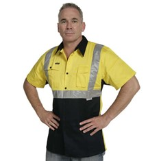 Hi Vis Short Sleeve Day/Night Shirt