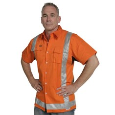 TTMC Hi Vis Short Sleeve Day/Night Shirt
