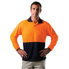 Hi Viz Long Sleeve Polo