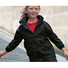 Kids Unisex Peached Track Jacket