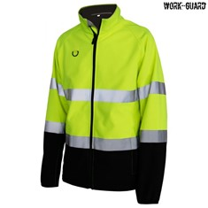 Workguard Hi Visibility Printable Softshell Jacket