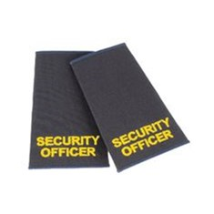 Epaulettes Security Officer