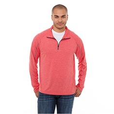 TAZA KNIT QUARTER ZIP TOP-MEN'S