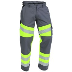 TWZ Eurosafe 240g Poly Cotton Trousers - Hi Vis