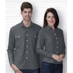 The Montreal Chambray Shirt Womens