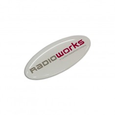 Resin Coated Labels 55 x 24mm - Oval