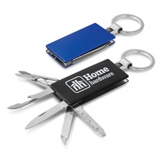 Multi-function Metal Key Ring